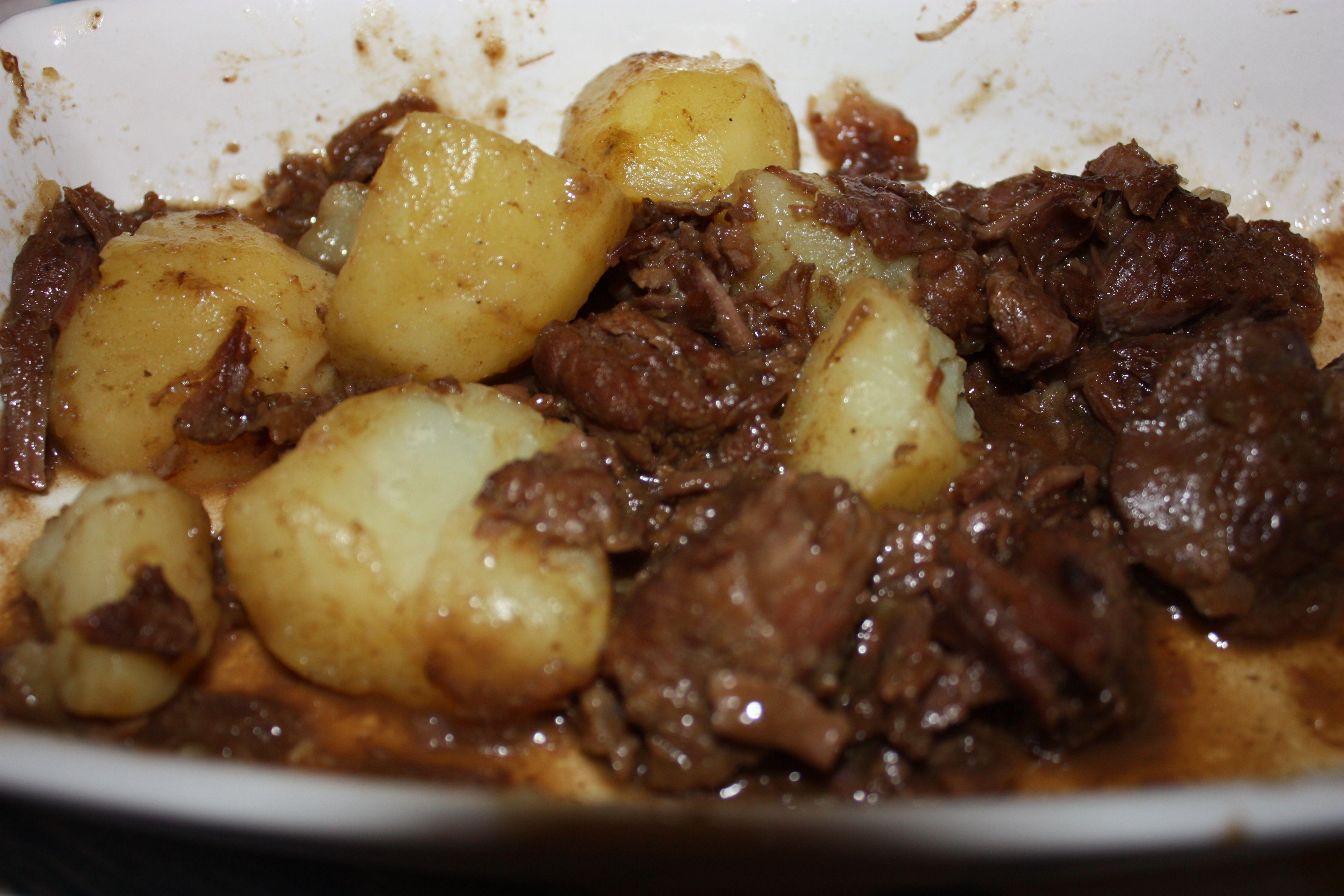Carne De Panela Com Batatas Receita Receitas Carne De Panela
