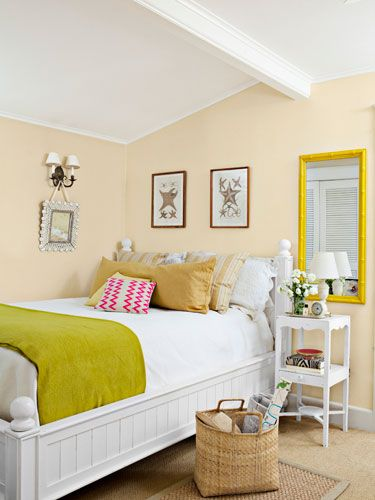 11 Smart Ways To Brighten Your Home With Color Small Bedroom Colours Bedroom Color Schemes Bedroom Colors