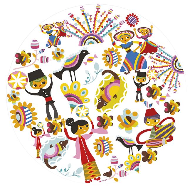 Pin Oleh Fe Ballooner Di Culture Indonesia Seni Doodle Seni Painting