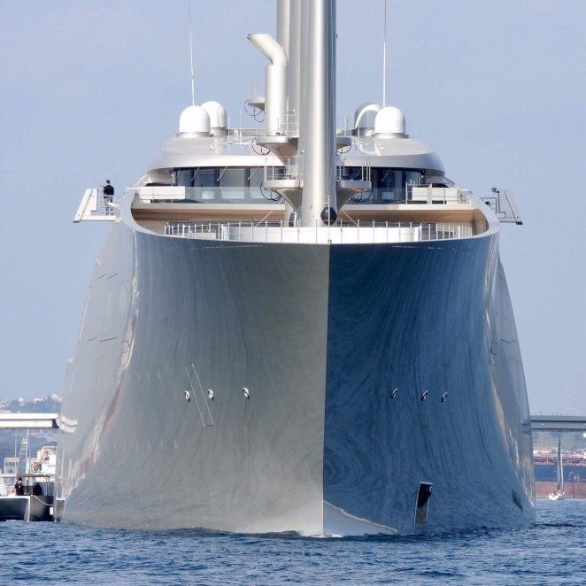 12 Pictures Of World Tallest Superyacht Sailing Yacht A Vehicles