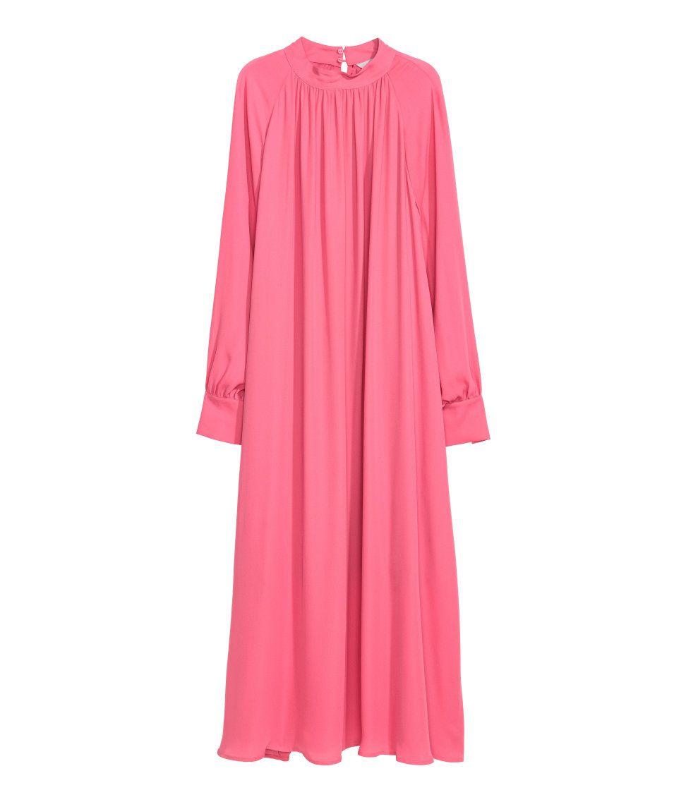 Vestido de gasa | Cereza | MUJER | H&M MX | Clothes - Vestiditos :3 ...
