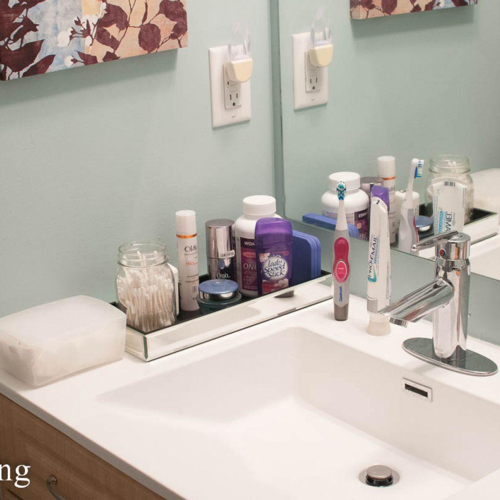Lovely Attractive Bathroom Counter Organization Ideas Bathroom