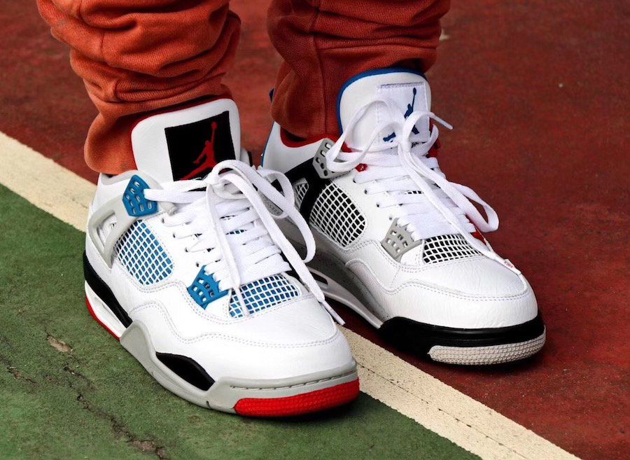 Take A Closer Look At The What The Air Jordan 4s On Feet With