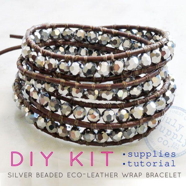 Diy Leather Wrap Bracelet Kit