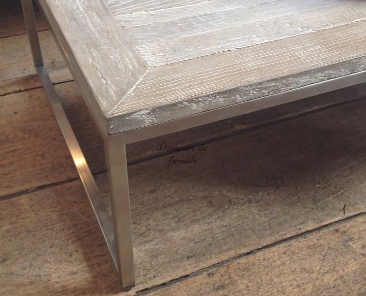 Meuble Table basse parquet Versailles - Mobilier Tables basses