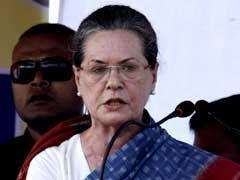 Sonia Gandhi in US for Regular Medical Checkup: Congress