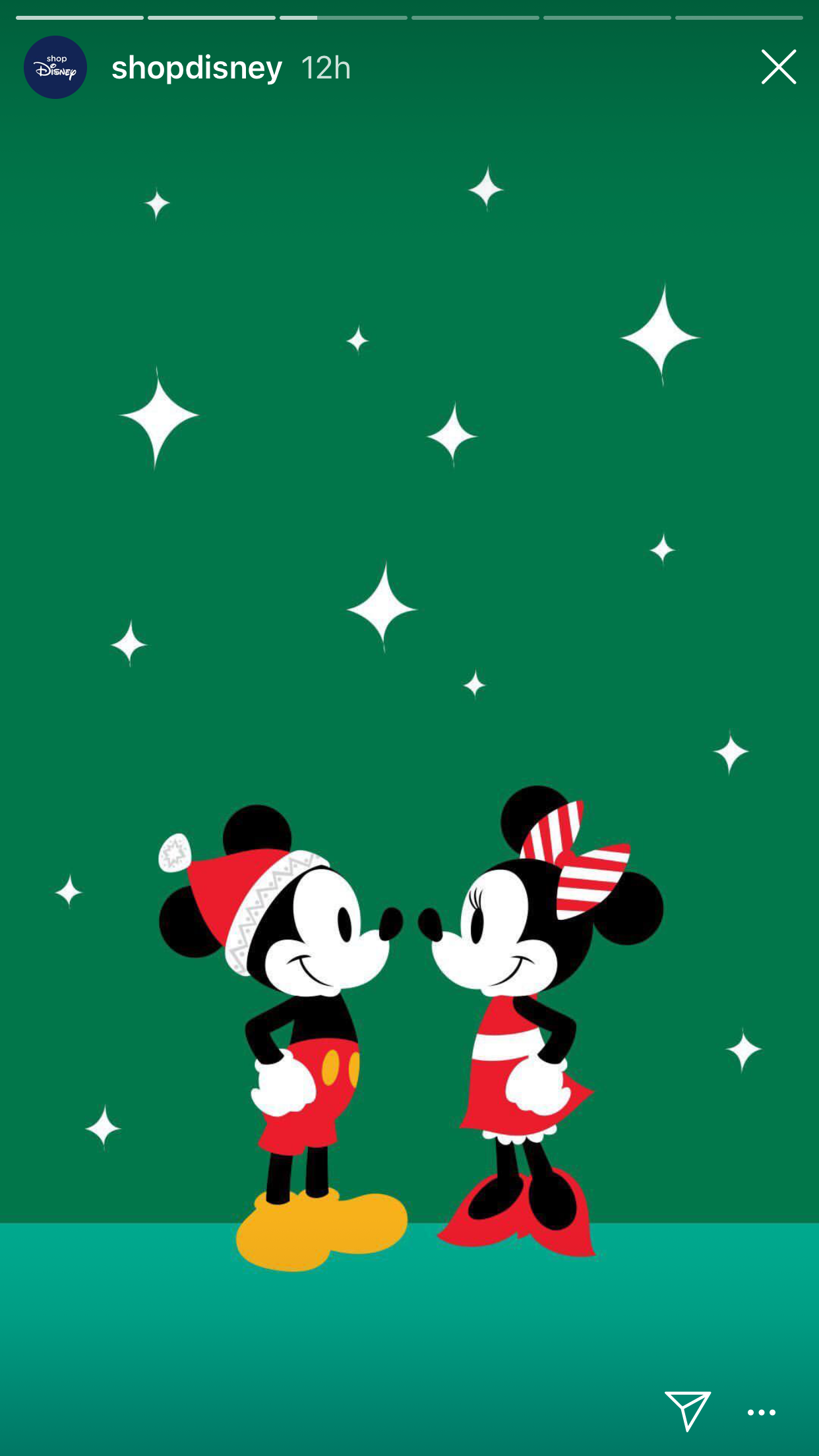 Mickey and Minnie Cute christmas wallpaper, Wallpaper
