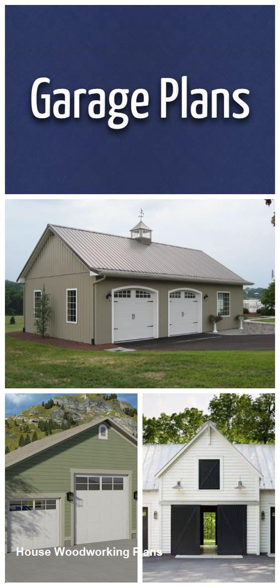 Diy Garage Plans #housewoodworkingplans #smallhouseplans