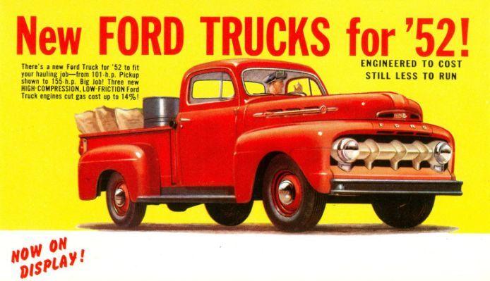 New Ford Trucks For 52 Trucks Vervoer Tractor Vrachtauto