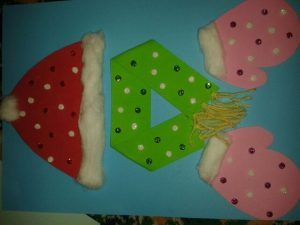Winter Clothes Craft Idea Winter Crafts For Kids Winter Crafts