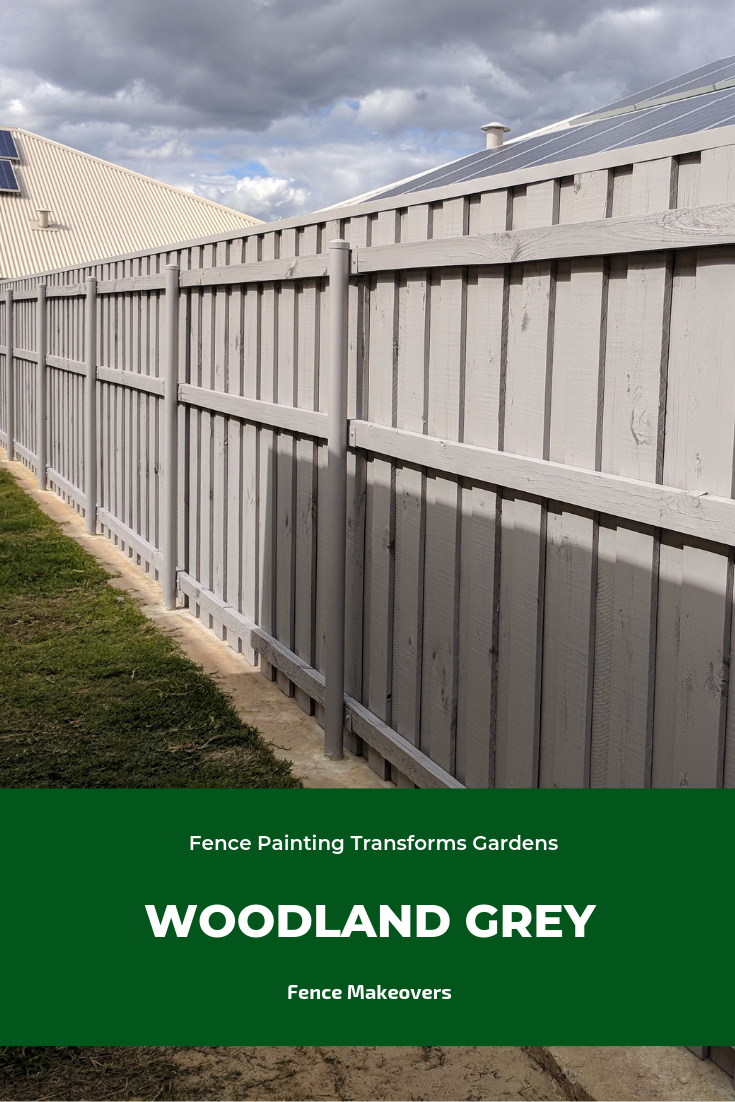Timber Fence Makeover Fence Painting Perth Fence Paint Fence Paint Colours Timber Fencing