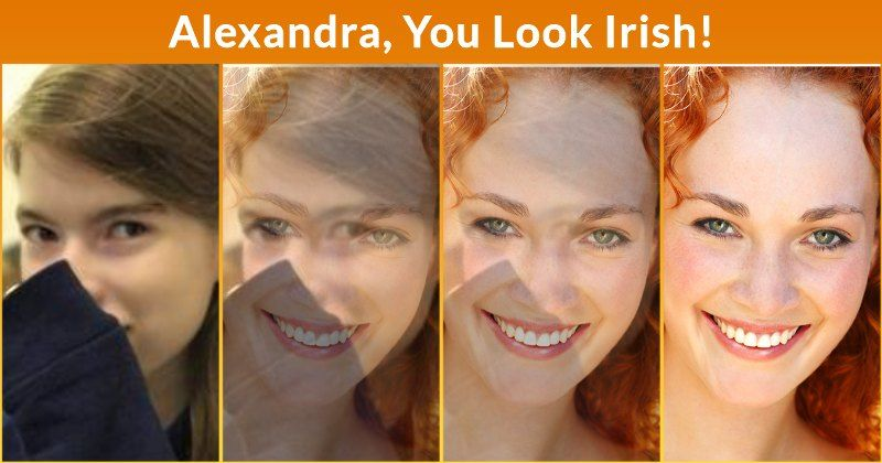 What Nationality Do You Look Like Alexandra Wherever You Are On The