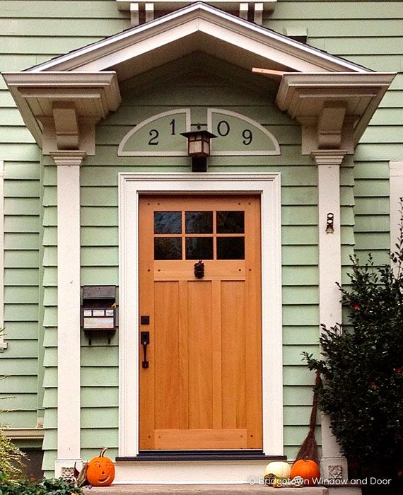 Simpson 7662 Exterior entry door in solid wood. Door with 7663 ...