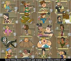 TDI Confessionals (With images) Total drama island, Cool