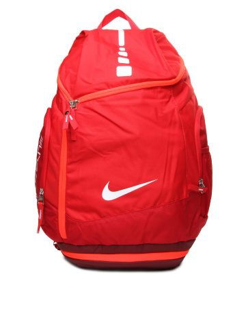 Nike Red Hoops Elite Max Air Team Basketball Backpacks