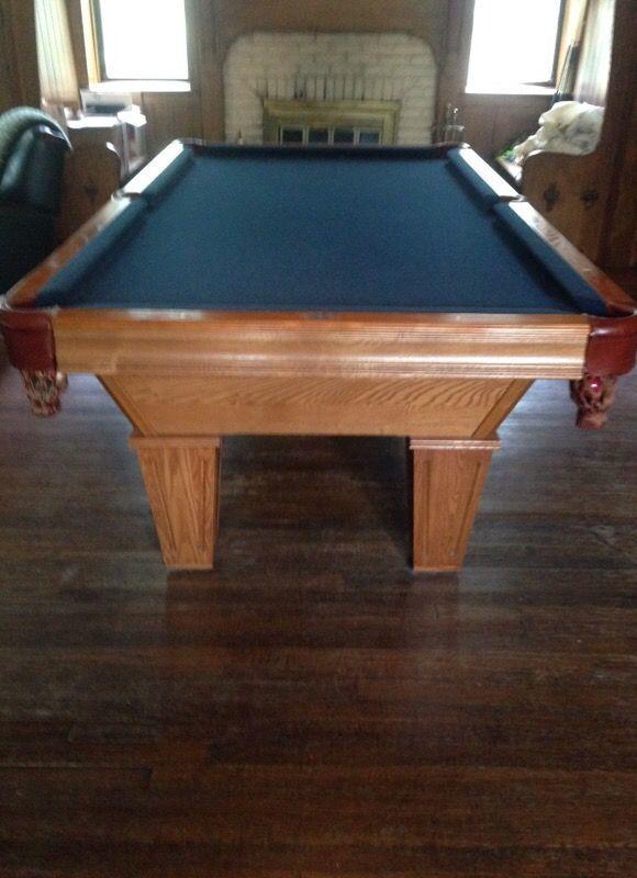 Brunswick Billiards Brookstone Pool Table Sold Used Pool Tables - Brunswick brookstone pool table