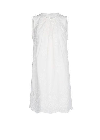 MANGO - Cotton embroidered dress