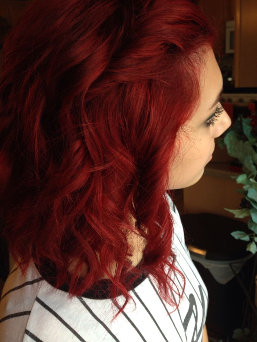 Current Hair Joico S Ruby Red The Hairz Joico Hair