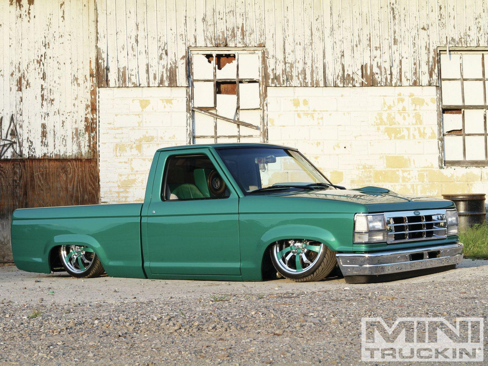91 dodge truck galleryhip com the hippest galleries - Lowered Green 1992 Ford Ranger