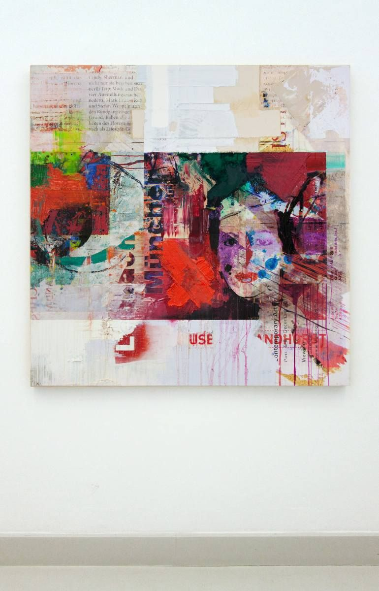 Reassembling Painting Painting Text art, Abstract