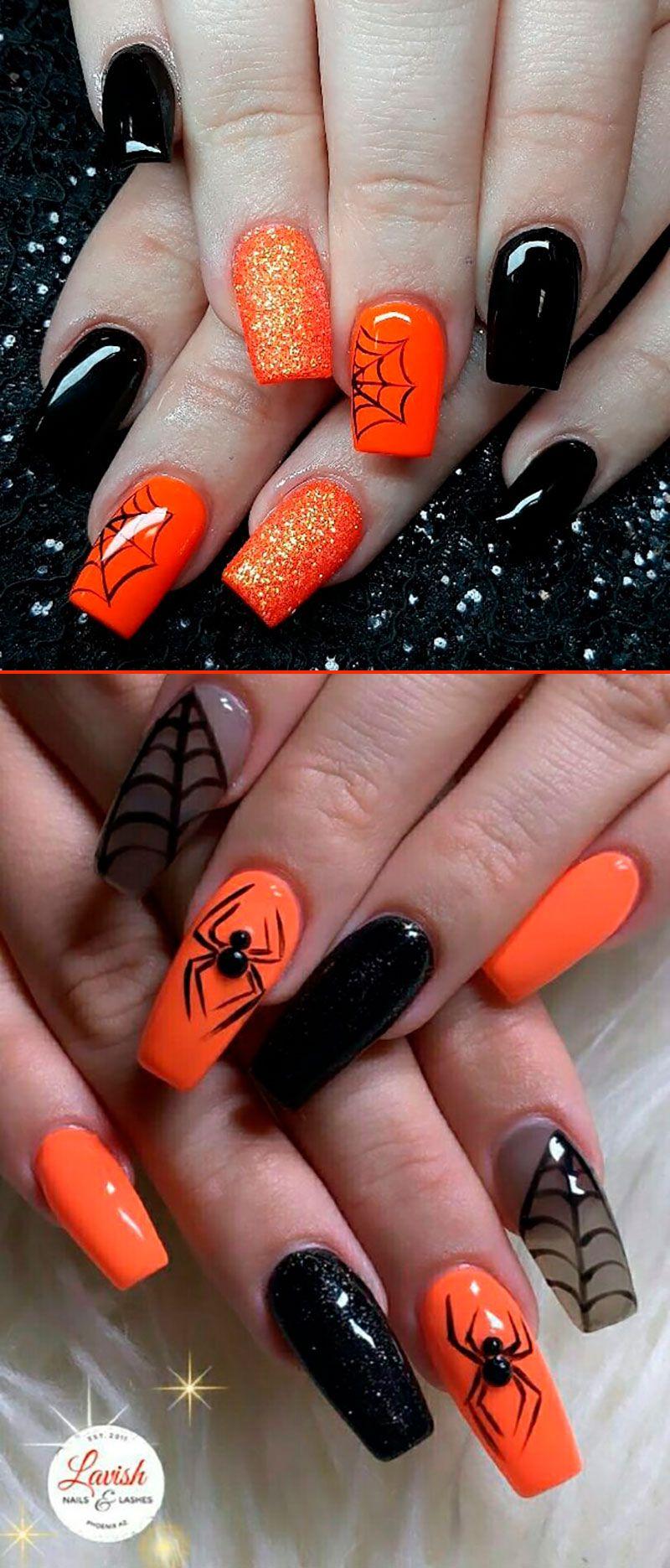 Pinterest Mnnxcxx Halloween Nails Sassy Nails Halloween Nail Designs