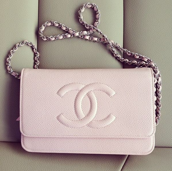 Chanel light pink crossbody bag. 2013 latest Prada leather ...