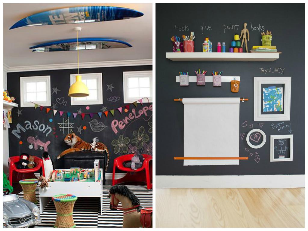 11 id es photos sur comment d corer une salle de jeux - Comment decorer un grand mur ...