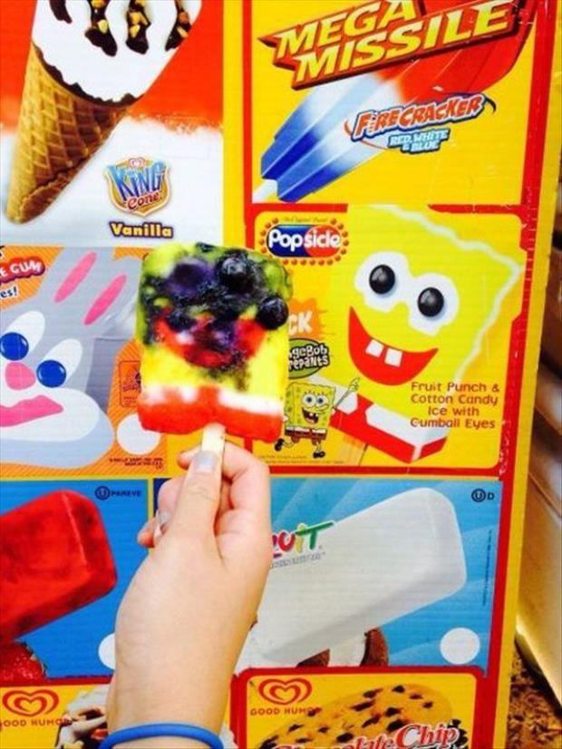 spongebob ice cream