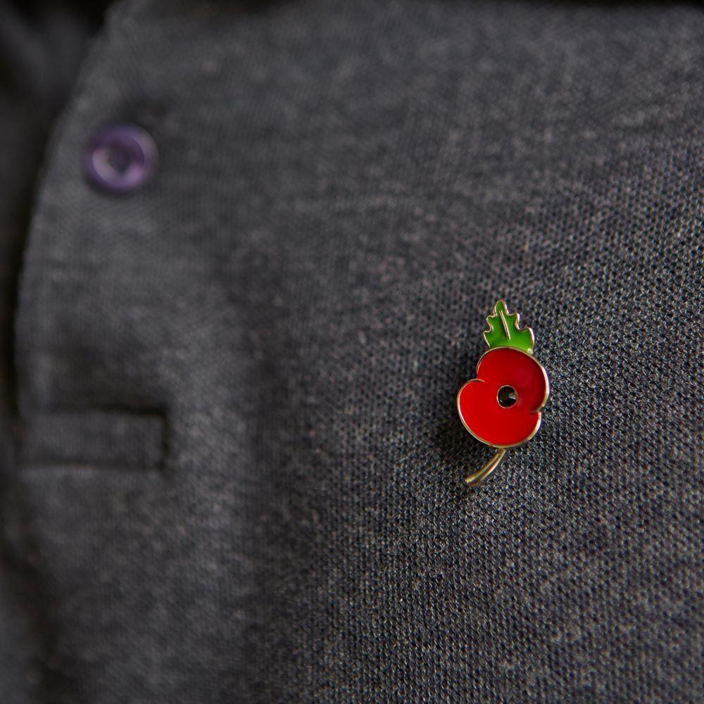 red poppy lapel pin | Lapel Pins | Custom lapel pins, Lapel pins