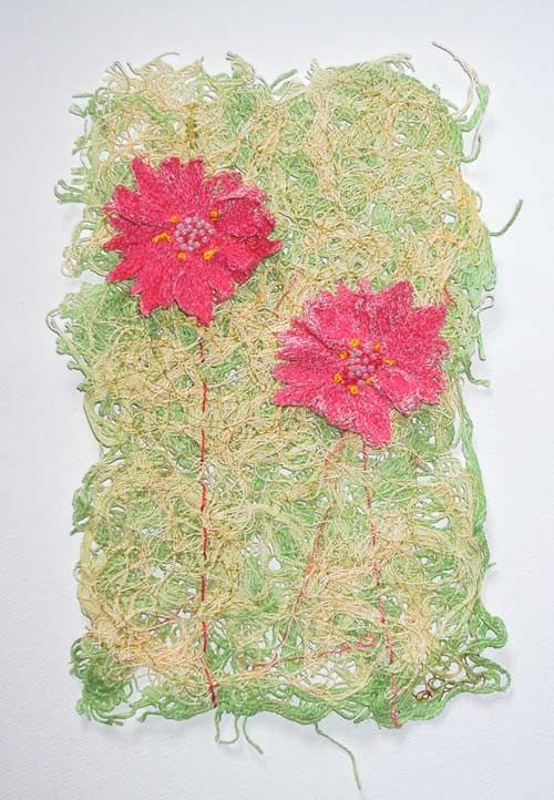 Here is my tutorial on creating an interesting and unusual for Hand thread painting tutorial