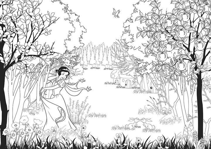 迪士尼經典童話著色 夢幻公主100 Disney Princesses Art Therapie