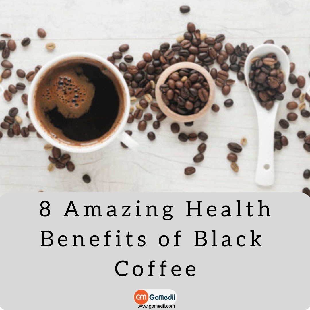 8 Amazing Health Benefits of Black Coffee GoMedii
