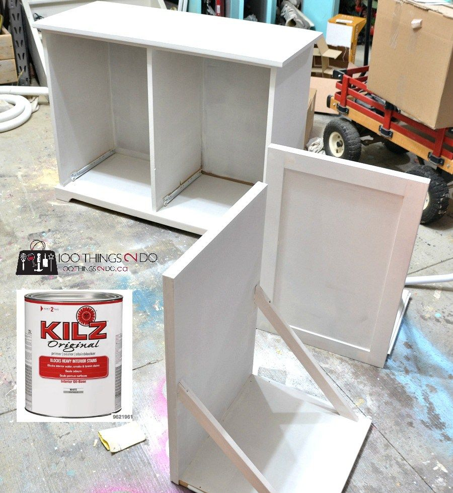 diy recycling centre kitchen garbage can storage recycling center diy furniture on kitchen organization recycling id=68631