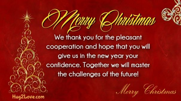 christmas message for boss   Merry Christmas Quotes Wishes ...