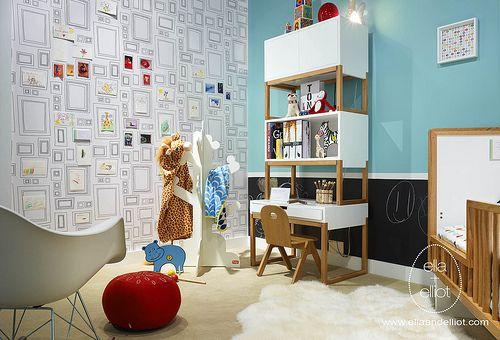 modern toddler boys room - Google Search