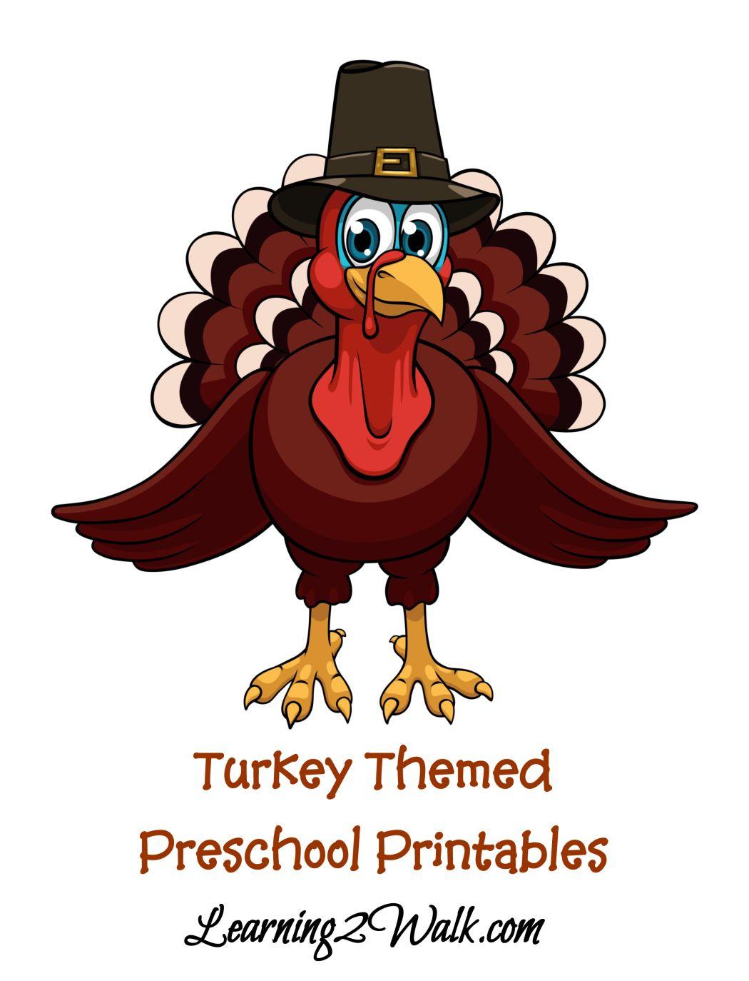 Free Turkey Printable Preschool Kit