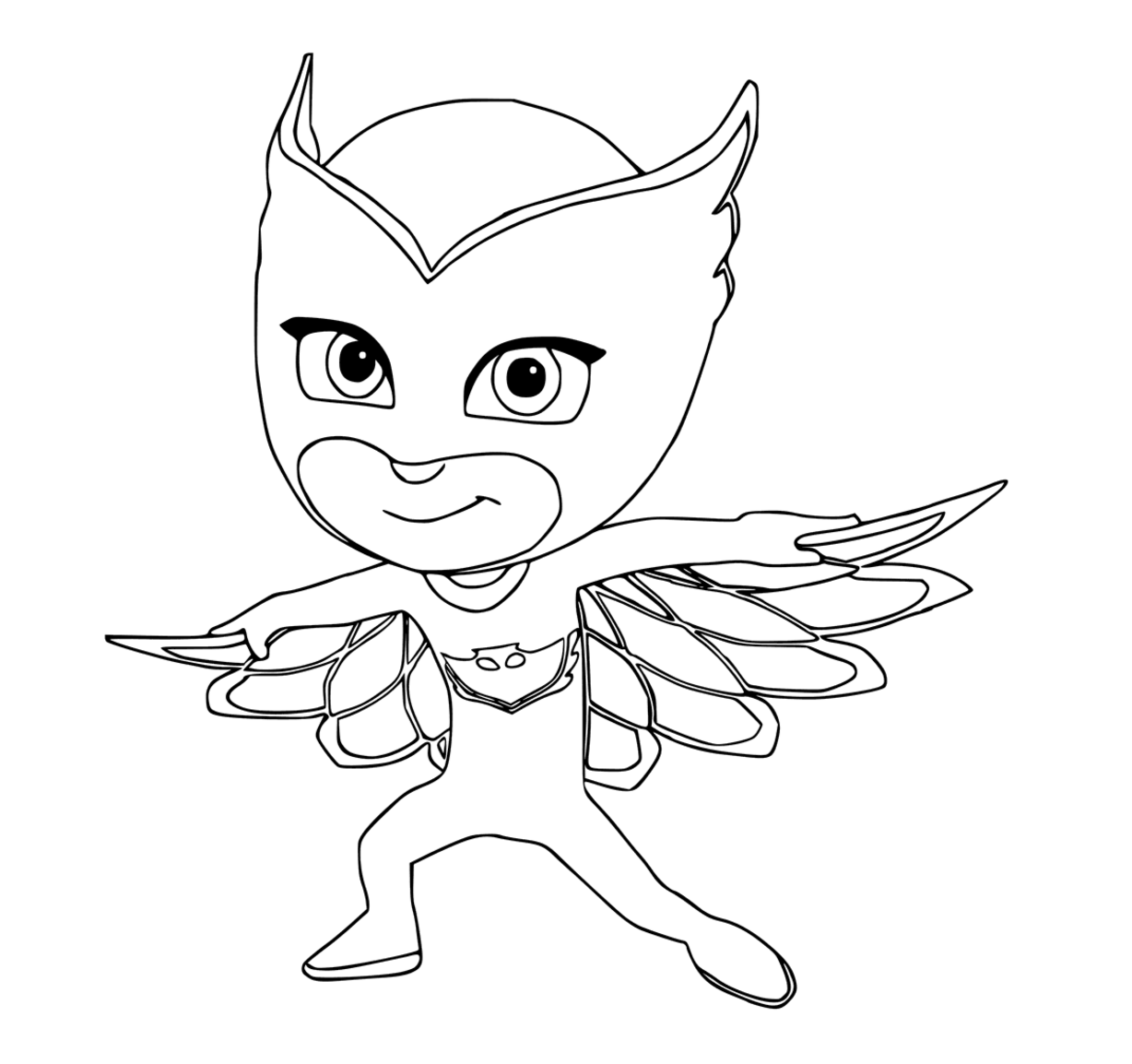 - Owlette Colouring Page Pj Masks Coloring Pages, Coloring Books