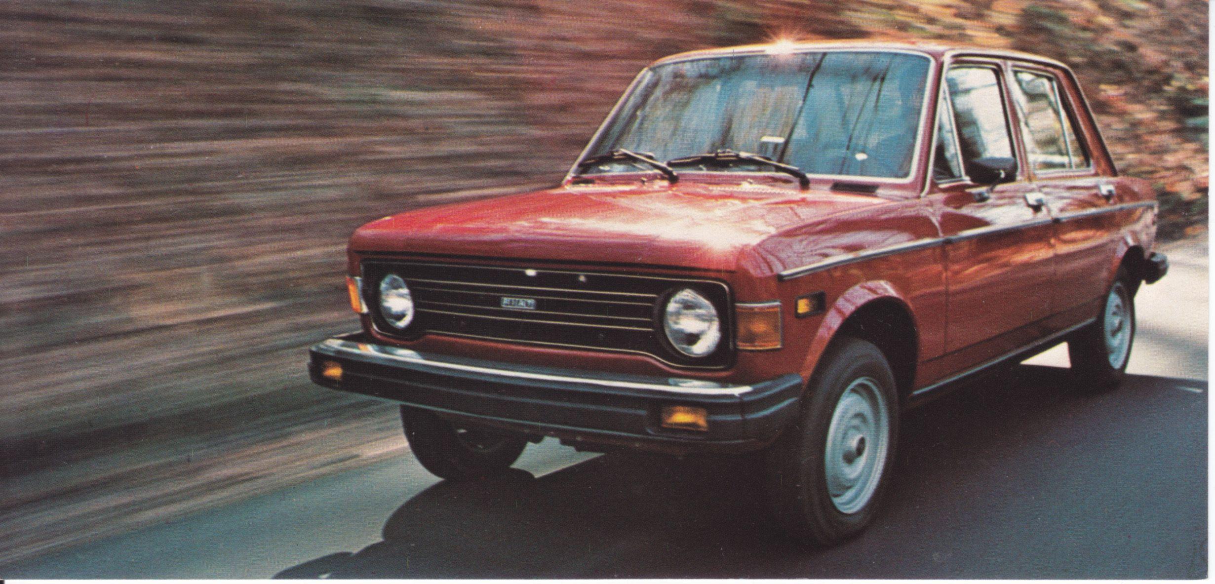 Fiat 128 Custom 4 Door Sedan Usa 7788 1977 Met Afbeeldingen