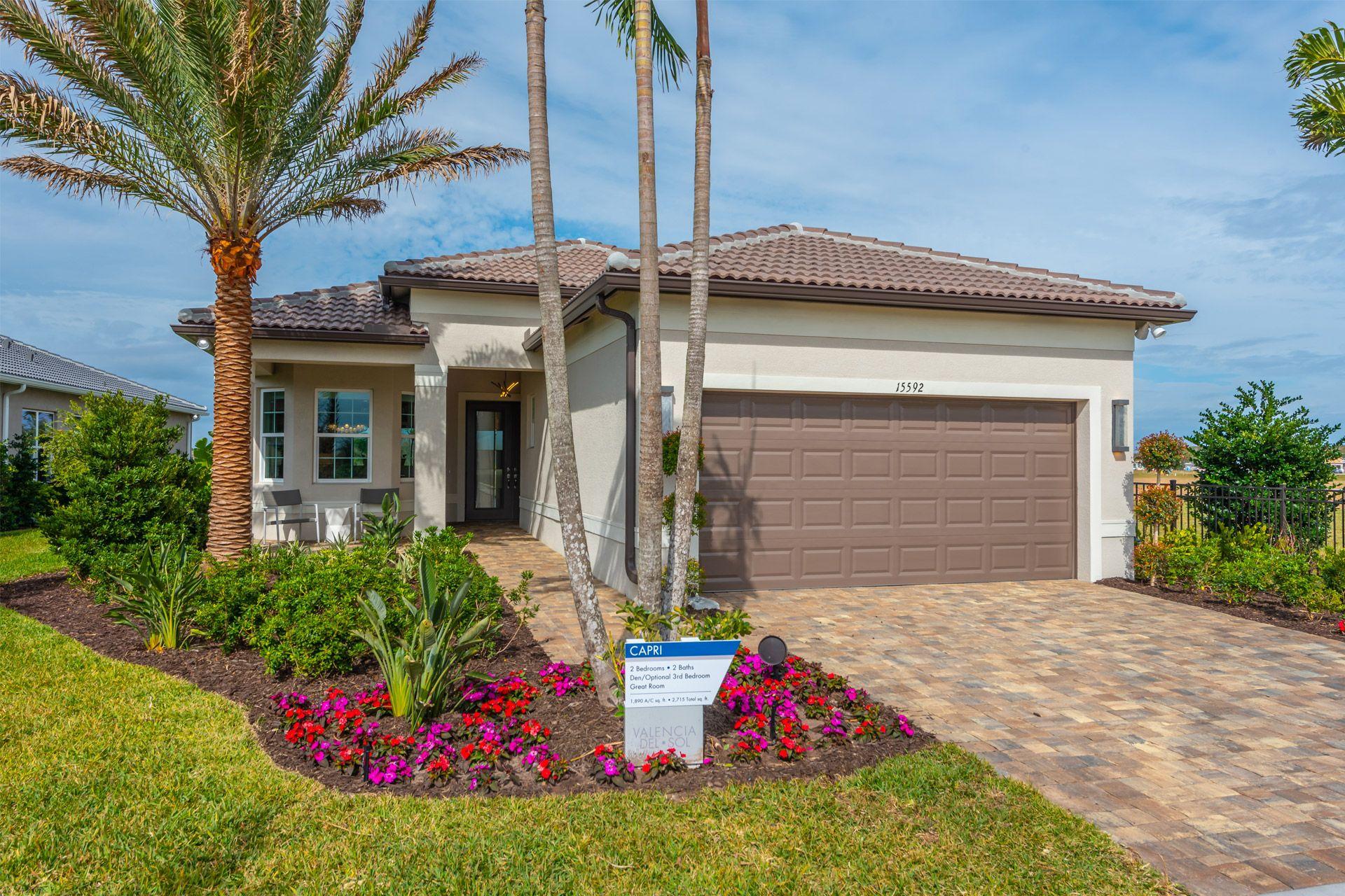 Soak Up The Florida Sunshine At Valencia Del Sol Tampa S Hottest New 55 Community Florida Homes For Sale Florida Real Estate Florida Home
