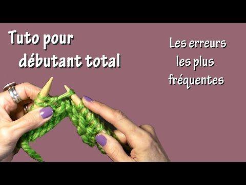 Tuto Tricot Pour Debutant Total Montage Et Rang D 39 Arret Youtube Tricot Debutant Tuto Tricot Tricot