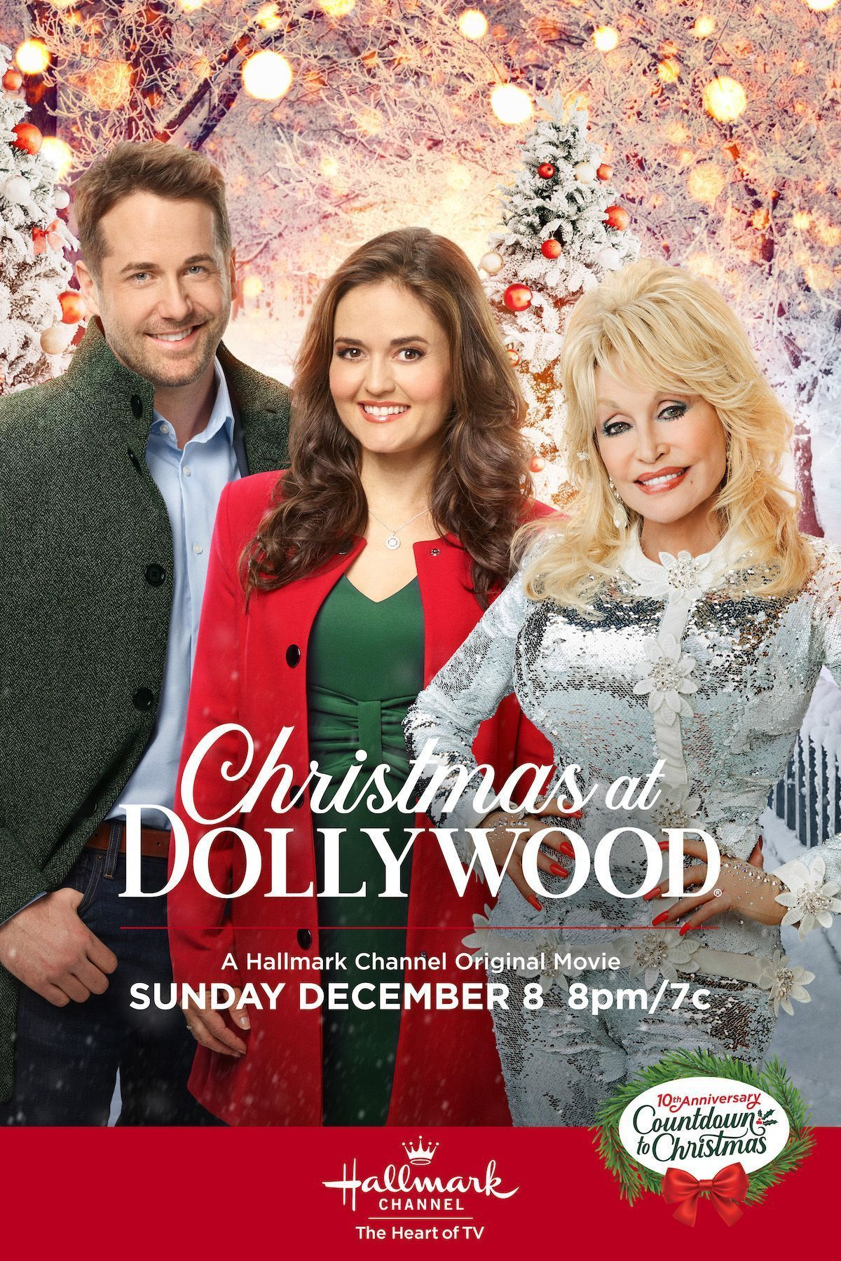 Enjoy Christmas At Dollywood Starring Danica Mckellar Niall Matter And T Hallmark Channel Christmas Movies Hallmark Christmas Movies Christmas Movies On Tv