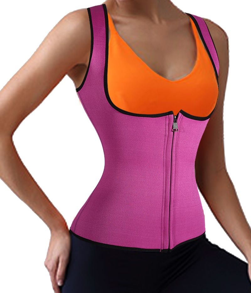 Neoprene Slimming Corset Women Vest Waist Trainer Cincher Workout Bodysuit Women Waist Corset Hot Shaper