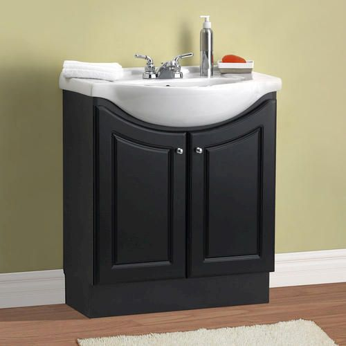 30 eurostone collection vanity base at menards for the - Very small bathroom vanity ...