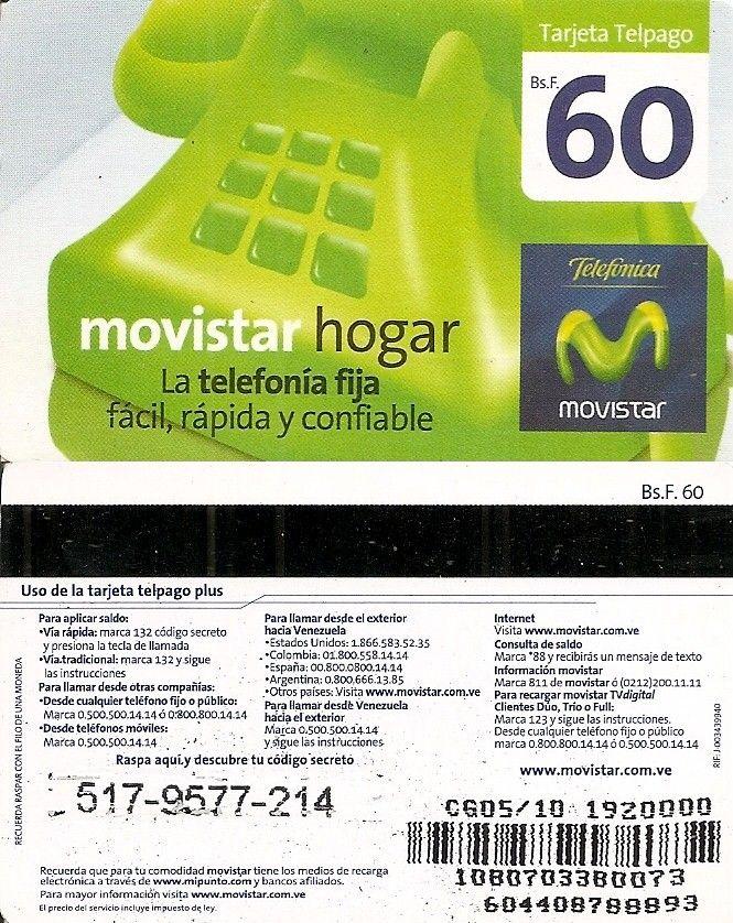 Pin De Haliotis94 Veronidae En Telefonicas Movistar Telefonia Fija Consulta De Saldo Tarjeta