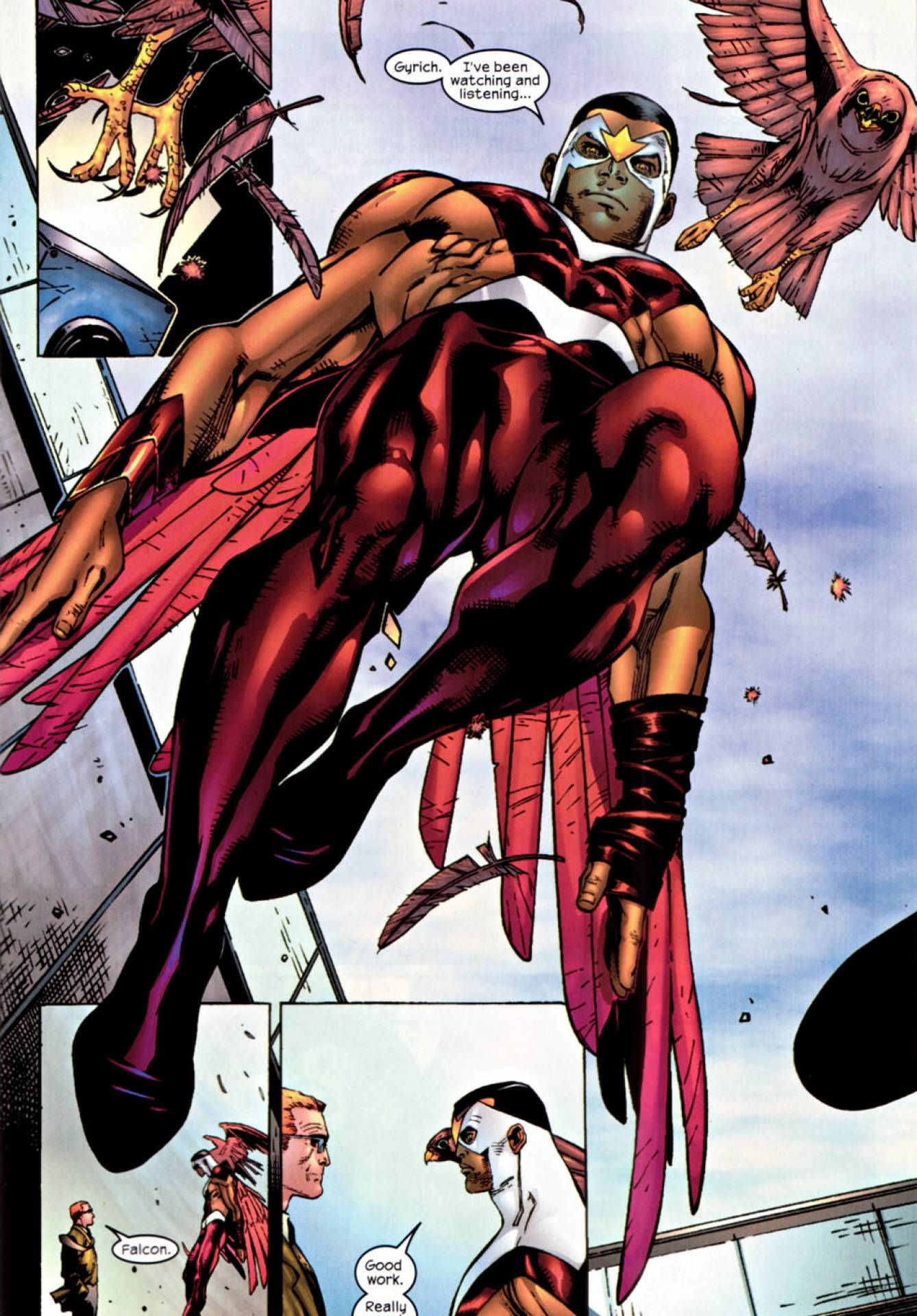 Falcon Screenshots Images And Pictures Comic Vine