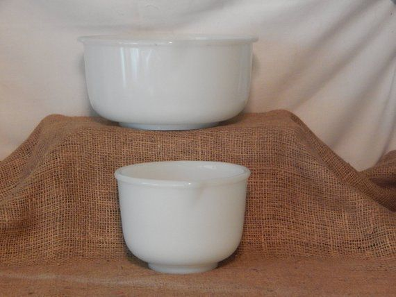 Glasbake Bowls Made in U S A for Sunbeam | Pinterest | Products
