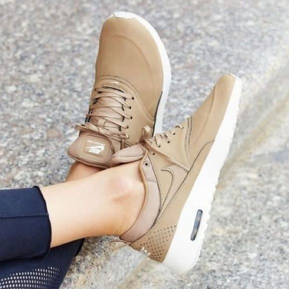 5e084aab74b23 Nike Air Max Thea Desert Camo Nude Tan #AirMaxDay RARE! All sold out. As  seen on Kendall Jenner and Gigi Hadid Bought this from a user here who has  worn it ...