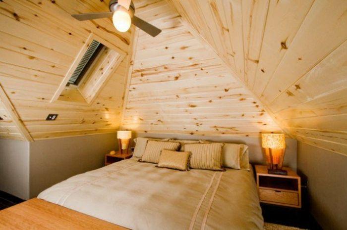 1001 Idees Deco De Chambre Sous Pente Cocoon Loft Grenier