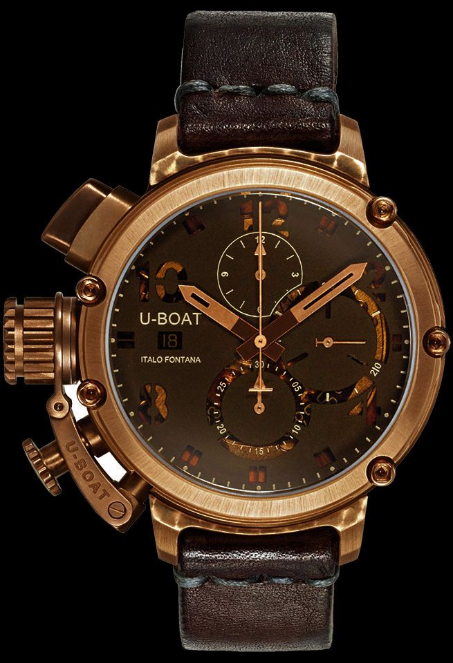 12beacf8865 U-Boat U-51 Bronze 6495 Watch - Watchismo is an Authorized U-Boat Dealer