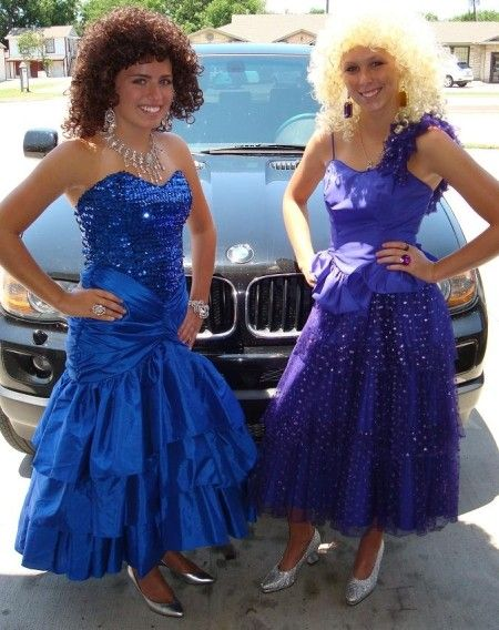 Vintage Prom Homecoming Dresses, 1980s Prom